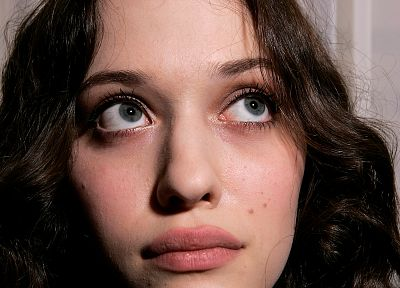 women, Kat Dennings, faces - related desktop wallpaper
