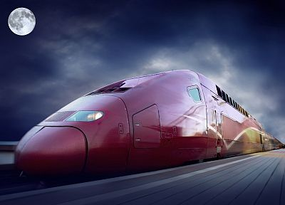 trains, TGV, Thalys - desktop wallpaper