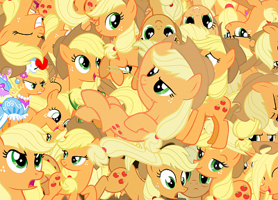 My Little Pony, Applejack - random desktop wallpaper
