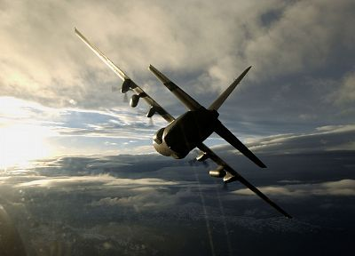 airplanes, AC-130 Spooky/Spectre - random desktop wallpaper