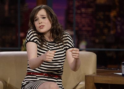 women, Ellen Page, actress, celebrity - desktop wallpaper