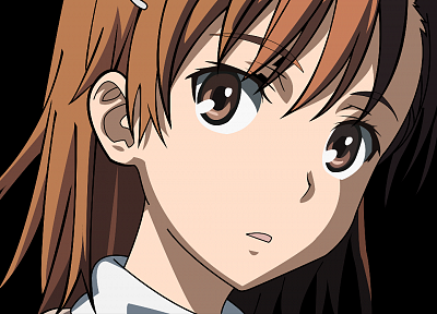 vectors, transparent, Misaka Mikoto, Toaru Kagaku no Railgun, anime vectors - desktop wallpaper