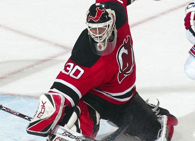 hockey, NHL, Martin Brodeur, New Jersey Devils - random desktop wallpaper