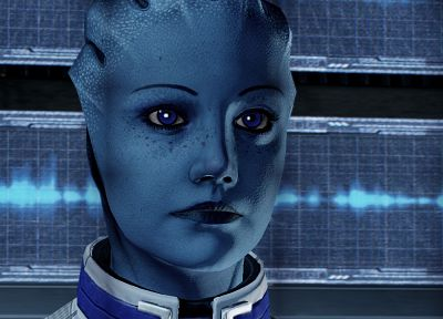 Mass Effect 2, Liara TSoni - random desktop wallpaper