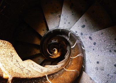 spiral, stairways - related desktop wallpaper