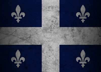 flags, Quebec - random desktop wallpaper