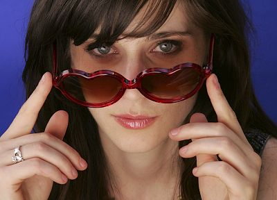 women, Zooey Deschanel - desktop wallpaper