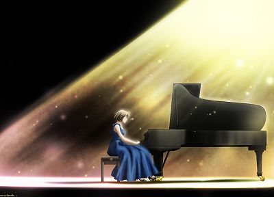 piano, Nodame Cantabile, instruments, pianist - related desktop wallpaper