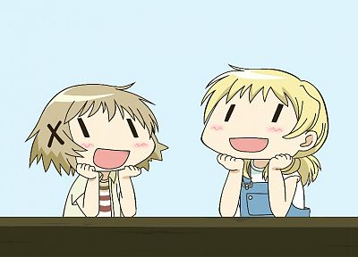 Hidamari Sketch, anime - desktop wallpaper