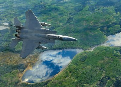 aircraft, F-15 Eagle - related desktop wallpaper