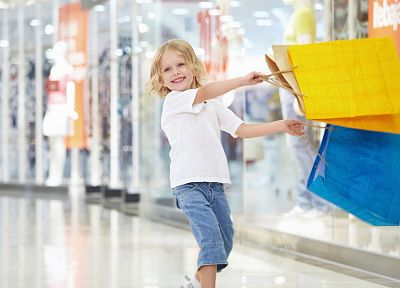 shopping, children - random desktop wallpaper