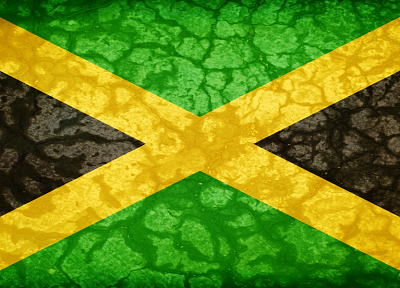 flags, Jamaica - desktop wallpaper