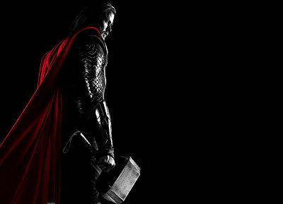 Thor, Chris Hemsworth, Thor (movie), Mjolnir - random desktop wallpaper