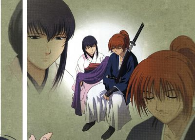 Rurouni Kenshin, anime - random desktop wallpaper