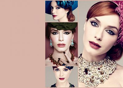 Christina Hendricks - desktop wallpaper