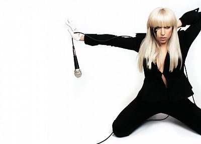 women, music, Lady Gaga, singers - desktop wallpaper