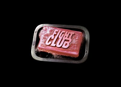 movies, Fight Club, soap - random desktop wallpaper