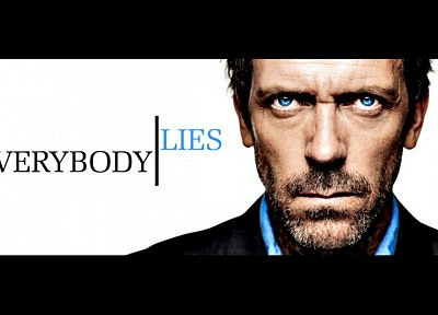 blue eyes, Hugh Laurie, everybody lies, Gregory House, House M.D. - random desktop wallpaper