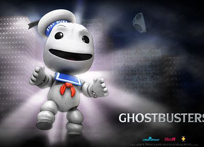 video games, movies, Little Big Planet, Sackboy, console, fantasy art, Ghostbusters, Ghost Busters - related desktop wallpaper