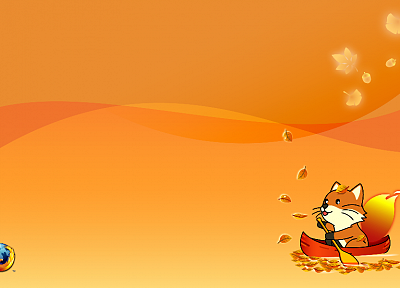 autumn, Firefox, Mozilla - desktop wallpaper