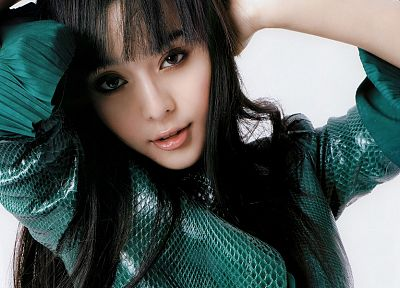women, Asians, Fan Bingbing, bangs - related desktop wallpaper