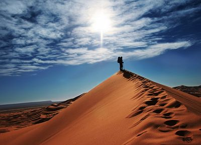 landscapes, nature, deserts, dunes, skyscapes - related desktop wallpaper