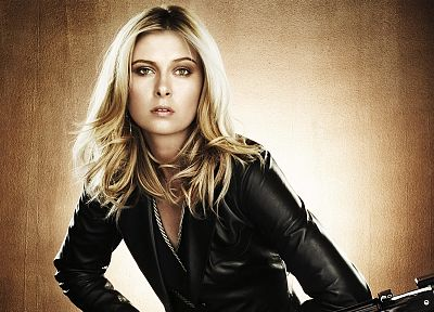 blondes, women, Maria Sharapova, motorbikes, tennis players - random desktop wallpaper
