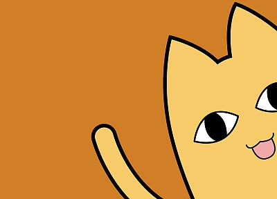 Azumanga Daioh, cats, anime, Chiyo's Father - desktop wallpaper