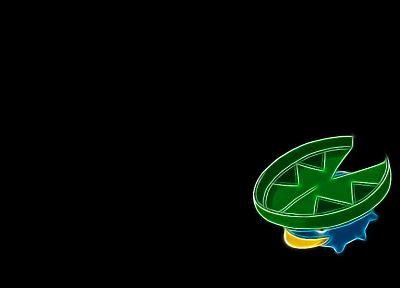 Pokemon, black background, Lotad - random desktop wallpaper