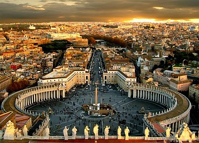 cityscapes, urban, Roma, vatican city - random desktop wallpaper