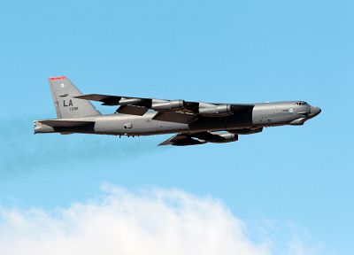aircraft, military, bomber, B-52 Stratofortress, planes - random desktop wallpaper
